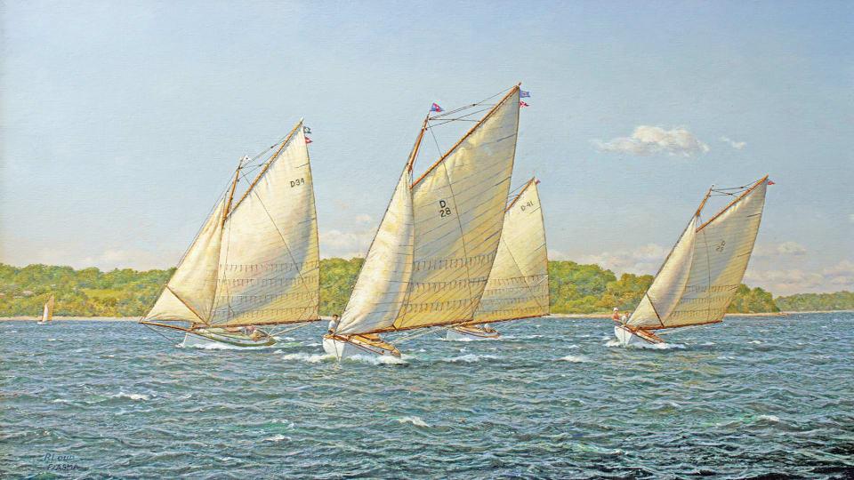 Catboats Racing