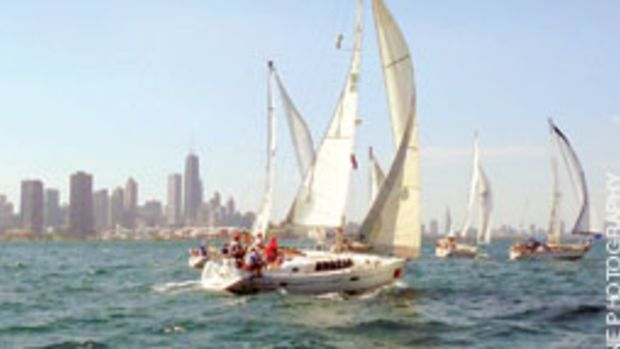 The start of the 102nd Mackinas Race was a chance for a Chesapeake Bay sailor to sample freshwater racing.