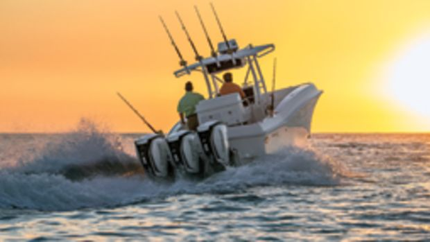 Evinrude's new E-TEC G2 outboards are available in 200-, 225-, 250- and 300-hp models.