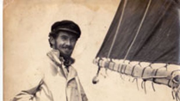 Griffiths became a skilled sailor with a theatrical nature.