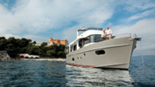 French builder Beneteau's Swift Trawler series entered the U.S. market in 2007 (ST50 pictured).