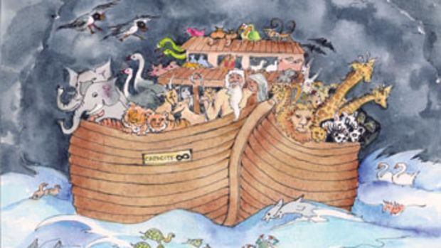 Noah may have overloaded his boat, but it was better than the alternative.