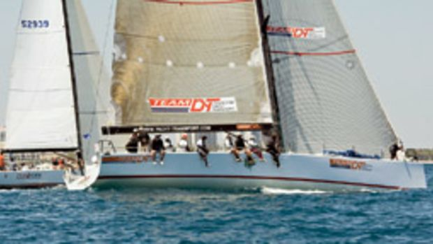 Rosebud/Team DYT sailed from Fort Lauderdale to Charleston in record time.
