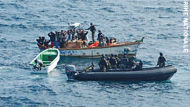 With Somalian pirates becoming more brazen, international forces are stepping up patrols in the area.
