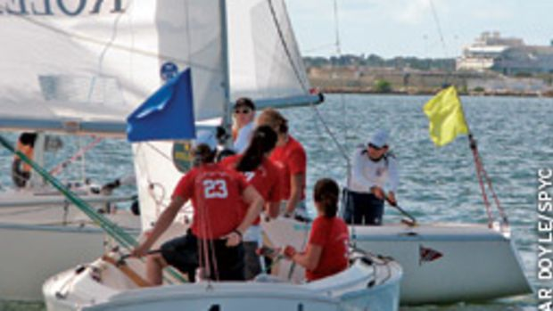 Giulia Conti and crew were too strong for the rest of the field at this year's Rolex Osprey Cup held off St. Pete.