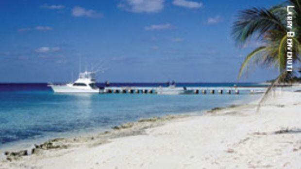 Maria la Gorda, on the Bahia de Corrientes, is home to an international diving center.