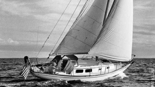 Nyala, a Bristol 32, was the last in a long line of boats for Mike O'Shea, and the vessel that carried him through the most harrowing night on the water.