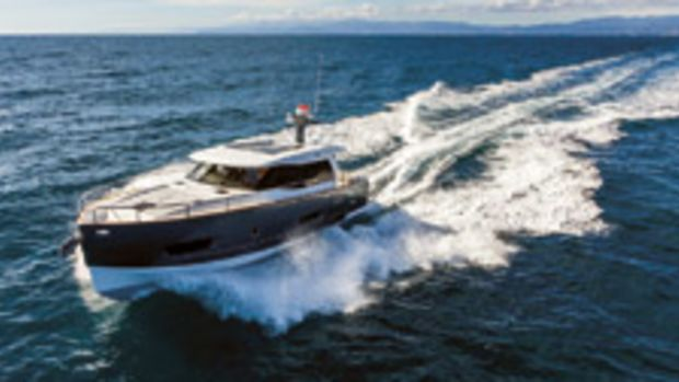 The Magellano 43 by Italial builder Azimut Yachts