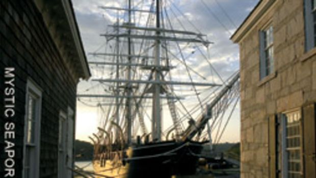 Since her arrival at Mystic Seaport in 1941, 20 million people have walked the Morgan's decks.