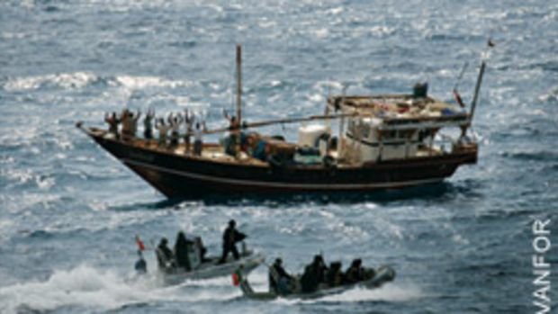The pirates prowling off Somalia are well known, but piracy can come in many forms anywhere in the world.