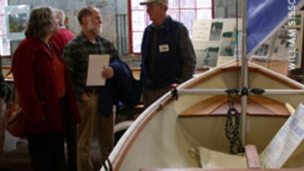 Don't expect potted palms and velvet ropes at the Maine Boatbuilders Show. This gathering of some of the finest builders on the East Coast takes place in an old locomotive railroad foundry.
