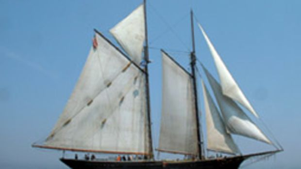 The Ernestina-Morrissey will undergo a $6 million restoration at Boothbay Harbor Shipyard in Maine.
