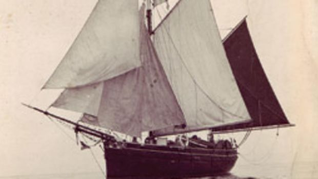 Rosalind is a converted 1903 lugger.