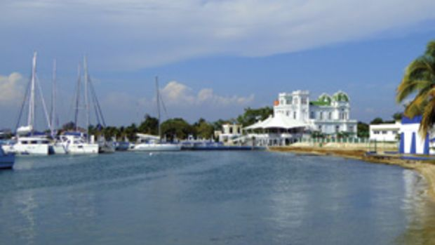 Club Cienfuegos is a government-run, prerevolutionary yacht club on Cuba's southern coast.