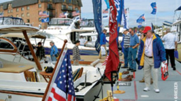 The annual one-two punch of sail and power return to the Annapolis waterfront in October.