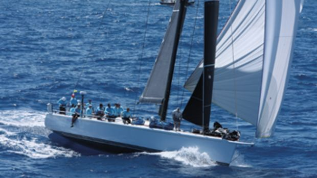 The writer sailed aboard Prospector, a Farr 60 that has had a great racing career under the names Deep Powder, Carrera, Hissar and Captivity.