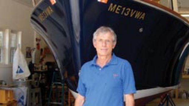 John Burgess turned his passion for boat building into a platform for teaching the skills to others.
