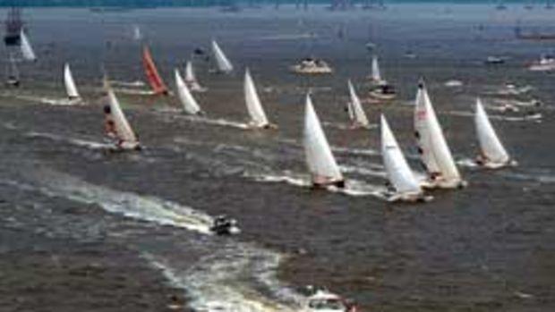 The biennial Charleston Bermuda Race, which covers 777 nautical miles from Charleston, S.C., to St. David's Head in Berumda, returns May 21.