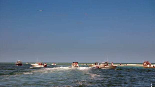 Vigilance is especially important when boaters are arriving, leaving and anchoring in the same area.