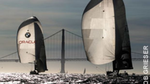 ACSailingSF will put you aboard Oracle Racing's IACC yacht from its 2003 challenge.