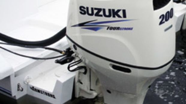 The transition from 2-stroke to 4-stroke is getting easier as manufacturers continue to reduce the weight of their engines. The new DF200A from Suzuki is an example of a lighter 4-stroke.