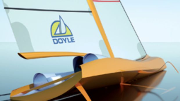 SpeedDream is a monohull designed to challenge the speeds of multis.