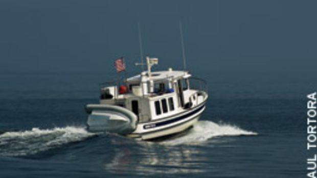 Destination: a new horizon on board a Nordic Tug 32.