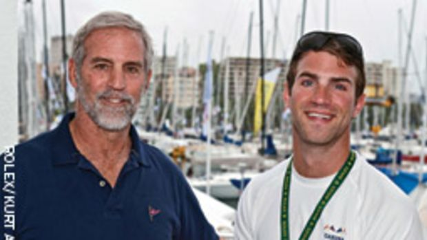 Rives and Walker Potts get reacquainted when they race their sloop Carina.