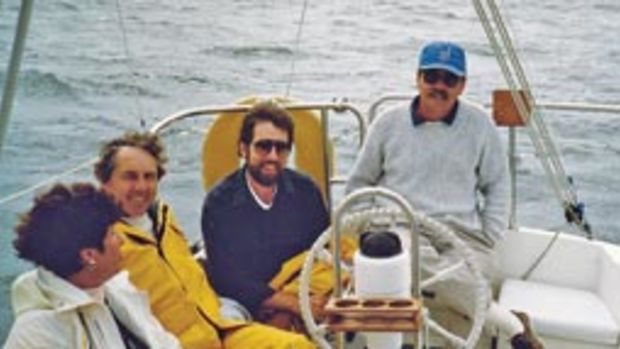 Ed Sherman (right) is one of those people who likes both power and sail, and he has cruised extensively.