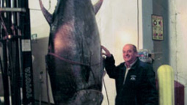 Carlos Rafael lost a big payout when the 881-pound tuna was deemed an illegal catch.