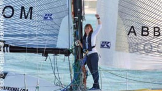 Abby Sunderland was about halfway through her attempt to become the youngest solo circumnavigator when the rig came down.