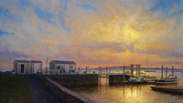 Oil Painting by William Duffy.
