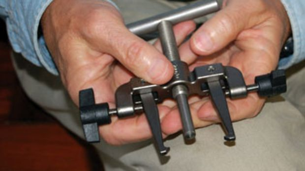 Invest in an impeller puller — it's worth the money and can save your sanity.