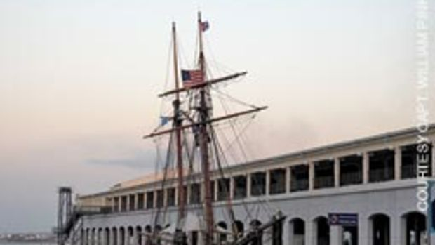 The Freedom Schooner Amistad put in March 25 in Havana - the place where the historic voyage of La Amistad began.