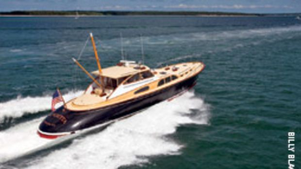Billy Joel's 57-foot commuter yacht Vendttta was one of the yachts recently serviced by New England Bow Thruster.