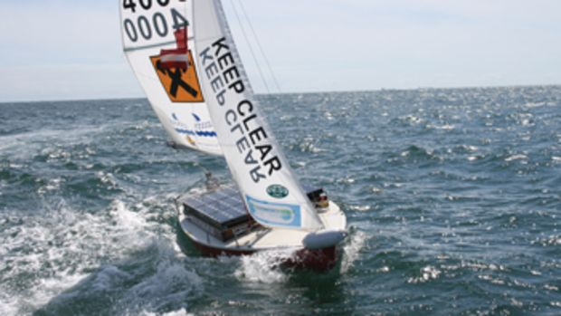 Based on a Norwegian keelboat design, the self-sailing Roboat won the World Robotic Sailing Championship four times.