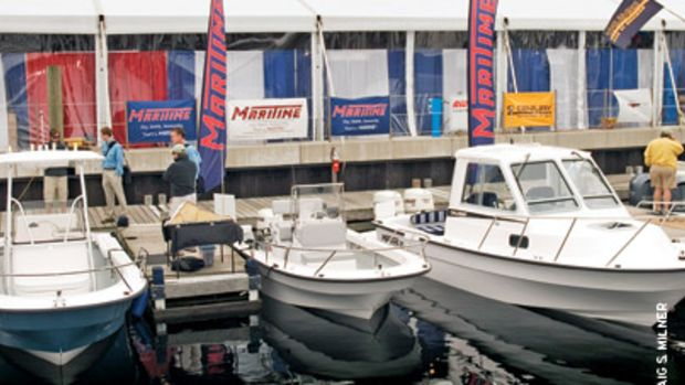 Maritime Marine's lineup grew in 2008 with an 18-foor center console and a 25-footer with extended transom.