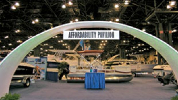 The Affordability Pavilion will return this year to highlight boat brands that can be financed for less than $250 a month.