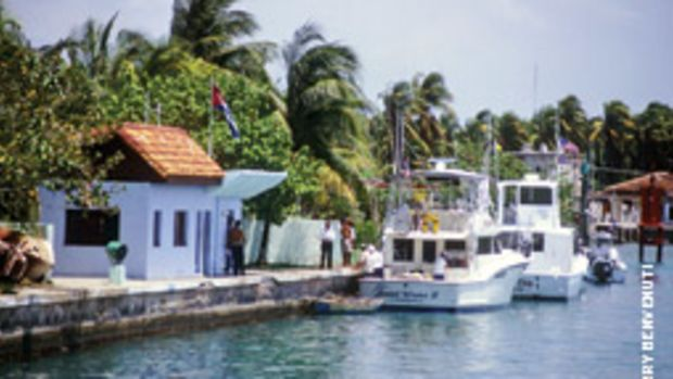 If the embargo to Cuba is lifted, more American boaters will be seeing the customs office at Marina Hemingway.