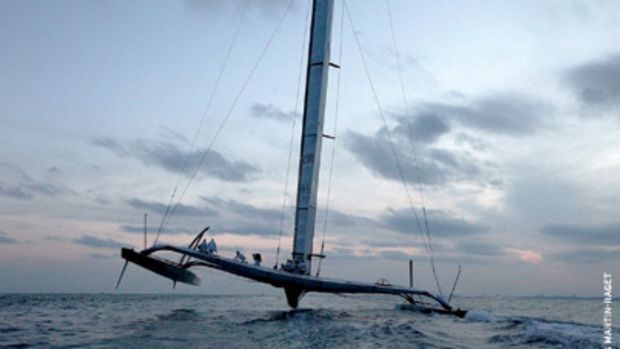 Capping off a long and litigious build-up to the 33rd America's Cup, U.S. syndicate BMW Oracle Racing's trimaran swept the Deed of Gift Match.