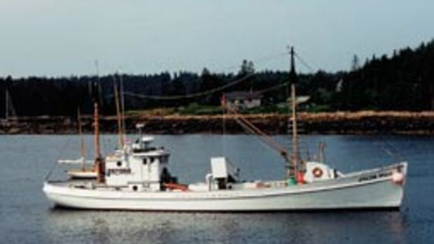 The Penobscot Marine Museum now owns the Jacob Pike.