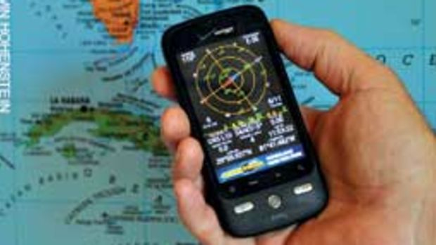 Smart phones are capable of providing GPS-generated position data.