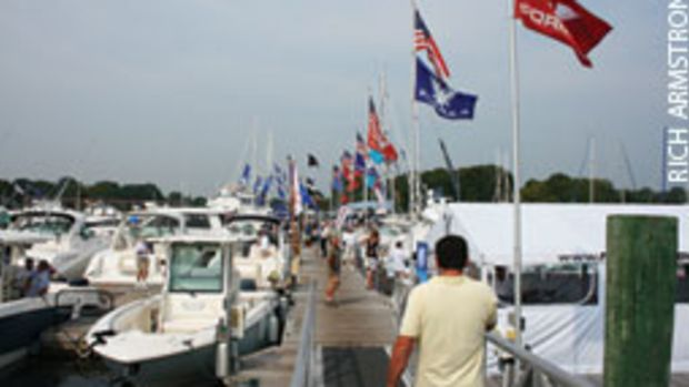 You'll be more productive if you approach boat shows with a plan - for example, knowing which models you want to see.