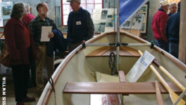 It was flannel-to-flannel at the old foundry for last year's Maine Boatbuilders Show. Organizers hope to repeat the outcome at this year's show which runs March 19-21.