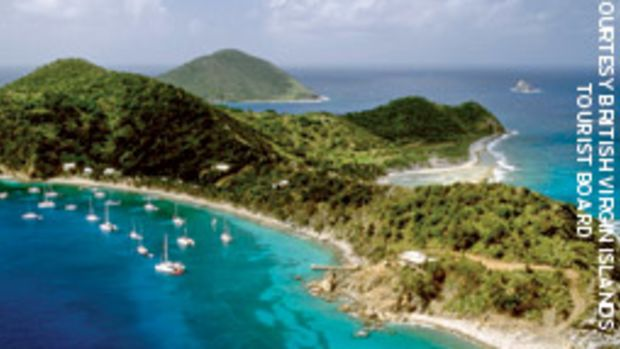 The author warns that while the shores of the British Virgin Islands may beckon, don't cross over from the USVIs without the right paperwork.