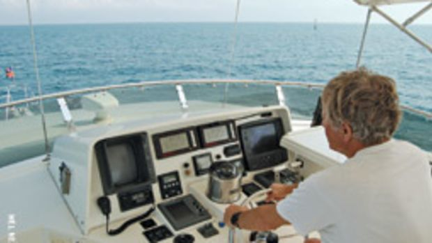 Good visibility at the helm is essential on any boat.