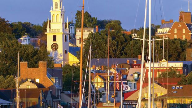 Rhode Island Marina Photo