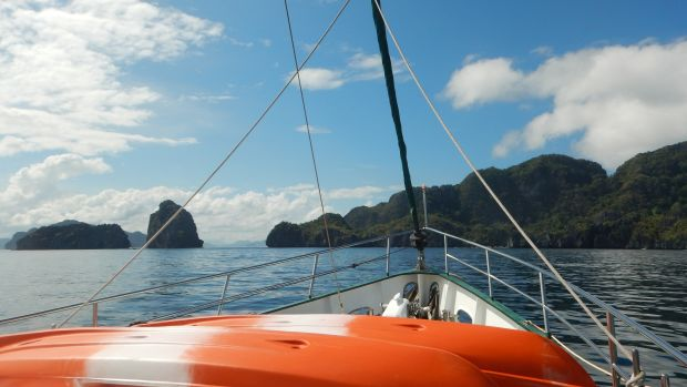 Cruising Near Coron Island, Calamian Group, Philippines
