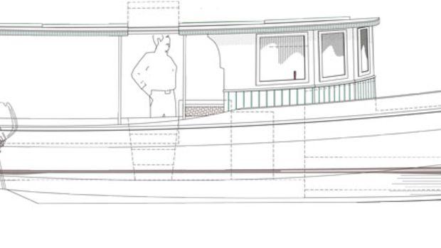 Outboard-Sal-27-Model_Darker-side-view