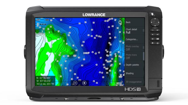 Lowrance-HDS-12-Carbon-with-Genesis-Edge-Vegetation